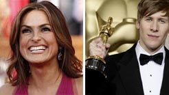 alumni Mariska Hargitay and Dustin Lance Black
