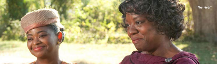A photograph taken during the film 'The Help'