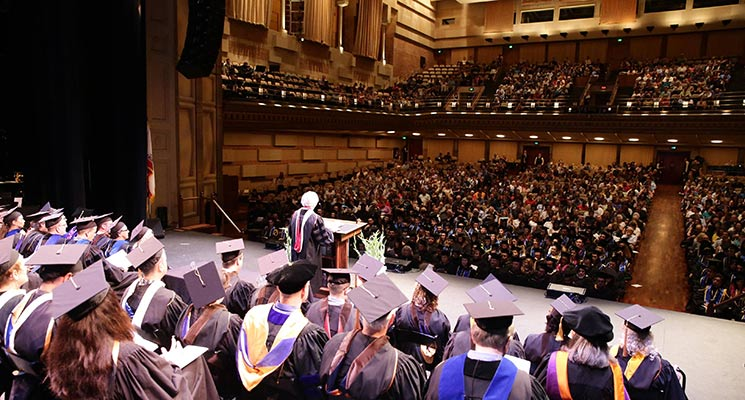 The 2016 UCLA TFT Commencement Ceremony